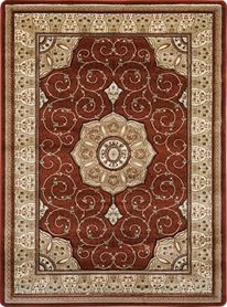 Tradycyjny dywan Adora 5792 brązowy