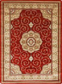 Tradycyjny dywan Adora 5792 terrakota