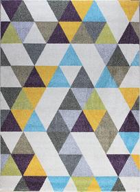 Nowoczesny dywan Aspect 1721 NAVY. Słoneczny kolor i jasne barwy podkreślą charakter Twojego pomieszczenia. Profesjonalne wykonanie oraz wysoka jakość, gwarantują długie użytkowanie produktu.