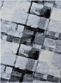 Nowoczesny dywan Aspect 1829 SILVER. Szary kolor i odcienie grafitu podkreślą charakter Twojego pomieszczenia. Profesjonalne wykonanie oraz wysoka jakość, gwarantują długie użytkowanie produktu.