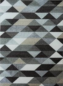Nowoczesny dywan Aspect 1829 beige. Brązowy kolor i jasne barwy podkreślą charakter Twojego pomieszczenia. Profesjonalne wykonanie oraz wysoka jakość, gwarantują długie użytkowanie produktu.
