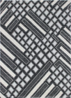 Nowoczesny dywan Aspect 1812 DARK SILVER. Grafitowo szare wzory podkreślą charakter Twojego pomieszczenia. Profesjonalne wykonanie oraz wysoka jakość, gwarantują długie użytkowanie produktu.