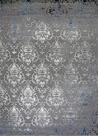 Nowoczesny dywan Elite 23282 Navy Grey. Modny, tradycyjny wzór. Profesjonalne wykonanie oraz wysoka jakość, gwarantują długie użytkowanie produktu.