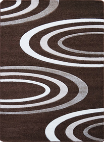 Nowoczesny dywan Jakamoz 1061 brązowy