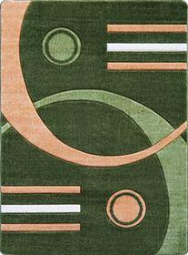 Nowoczesny dywan Jakamoz 1854 zielony