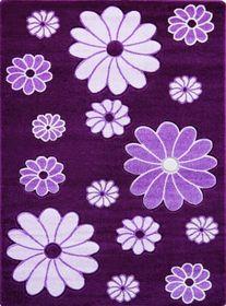 Nowoczesny dywan Jakamoz 1259 fioletowy