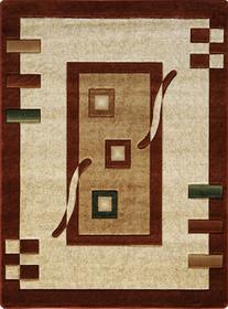 Nowoczesny dywan Adora 5289 brązowy