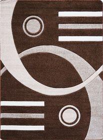 Nowoczesny dywan Jakamoz 1854 B brązowy