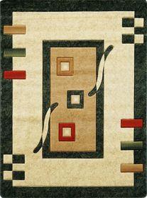 Nowoczesny dywan Adora 5289 zielony