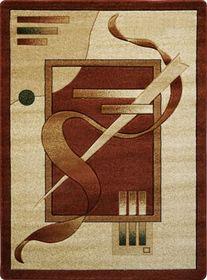 Nowoczesny dywan Adora 7052 brązowy