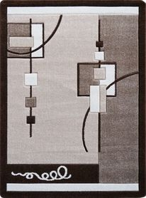 Nowoczesny dywan Jakamoz 1002 brązowy