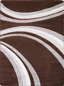 Nowoczesny dywan Jakamoz 1353 brązowy