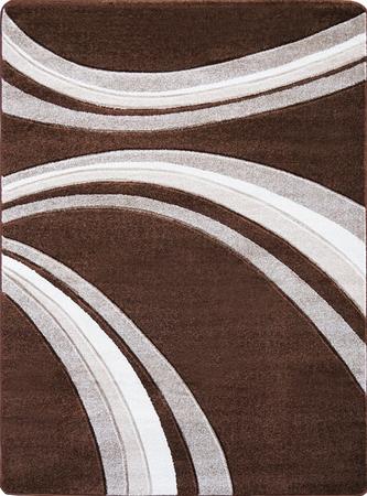 Nowoczesny dywan Jakamoz 1353 brązowy (1)