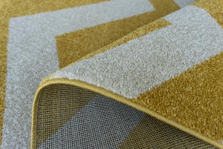 Nowoczesny dywan Aspect 1961 yellow. Słoneczny kolor i jasne barwy podkreślą charakter Twojego pomieszczenia. Profesjonalne wykonanie oraz wysoka jakość, gwarantują długie użytkowanie produktu.