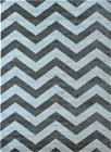 Nowoczesny dywan Aspect 1961 DARK SILVER. Szaro białe wzory podkreślą charakter Twojego pomieszczenia. Profesjonalne wykonanie oraz wysoka jakość, gwarantują długie użytkowanie produktu.