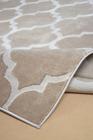 Nowoczesny dywan Elite 17391 Beige. Modny wzór - marokańska koniczyna. Profesjonalne wykonanie oraz wysoka jakość, gwarantują długie użytkowanie produktu.
