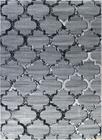 Nowoczesny dywan Artos 1716 GREY. Modny wzór - marokańska koniczyna . Profesjonalne wykonanie oraz wysoka jakość, gwarantują długie użytkowanie produktu.