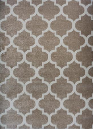 Nowoczesny dywan Artos 1716 BEIGE. Modny wzór - marokańska koniczyna . Profesjonalne wykonanie oraz wysoka jakość, gwarantują długie użytkowanie produktu.