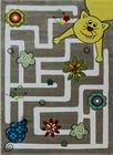 Piękny dziecięcy dywan z kolekcji Smart Kids. Wysoka jakość wykonania gwarantuje komfort oraz długi czas użytkowania.