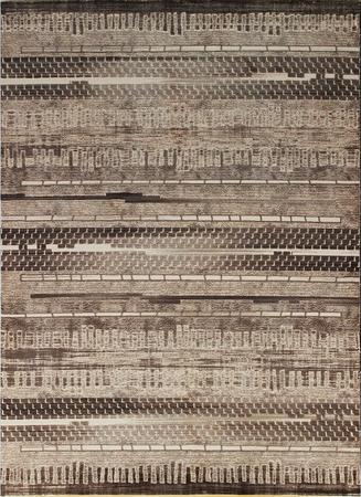 Nowoczesny dywan Dizayn 2350 BEIGE. Brązowo-beżowe barwy i regularny wzór podkreślą charakter Twojego pomieszczenia. Profesjonalne wykonanie oraz wysoka jakość, gwarantują długie użytkowanie produktu.