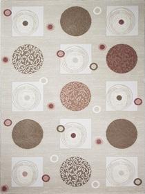 Nowoczesny akrylowy dywan Viva Acrylic 03354K L.BEIGE. Połączenie beżu z pudrowym różem oraz regularny wzór podkreślą charakter Twojego pomieszczenia. Profesjonalne wykonanie oraz wysoka jakość, gwarantują długie użytkowanie produktu.