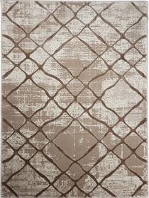 Nowoczesny dywan Bergama 08076A BEIGE. Odcienie beżu i subtelny wzór podkreślą charakter Twojego pomieszczenia. Profesjonalne wykonanie oraz wysoka jakość, gwarantują długie użytkowanie produktu.