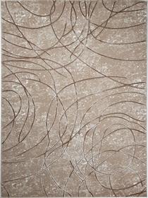 Nowoczesny dywan Bergama 08074A D.BEIGE. Odcienie beżu i subtelny wzór podkreślą charakter Twojego pomieszczenia. Profesjonalne wykonanie oraz wysoka jakość, gwarantują długie użytkowanie produktu.