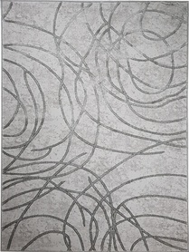 Nowoczesny dywan Bergama 08074B L.GREY. Szary kolor i subtelny wzór podkreślą charakter Twojego pomieszczenia. Profesjonalne wykonanie oraz wysoka jakość, gwarantują długie użytkowanie produktu.