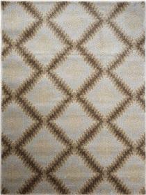 Nowoczesny dywan Poloness 07605A L.BEIGE. Odcienie beżu oraz regularny wzór podkreślą charakter Twojego pomieszczenia. Profesjonalne wykonanie oraz wysoka jakość, gwarantują długie użytkowanie produktu.
