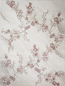 Nowoczesny akrylowy dywan Viva Acrylic 03352K L.BEIGE. Połączenie beżu z pudrowym różem oraz regularny wzór podkreślą charakter Twojego pomieszczenia. Profesjonalne wykonanie oraz wysoka jakość, gwarantują długie użytkowanie produktu.