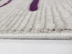 Nowoczesny akrylowy dywan Viva Acrylic 03357K L.GREY. Połączenie szarości i fioletu oraz subtelny wzór podkreślą charakter Twojego pomieszczenia. Profesjonalne wykonanie oraz wysoka jakość, gwarantują długie użytkowanie produktu.