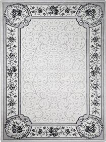 Nowoczesny akrylowy dywan Viva Acrylic 03355K A.GRI. Odcienie szarości oraz regularny wzór podkreślą charakter Twojego pomieszczenia. Profesjonalne wykonanie oraz wysoka jakość, gwarantują długie użytkowanie produktu.