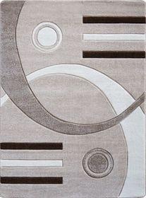 Nowoczesny dywan Jakamoz 1854 beżowy