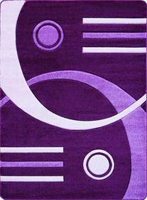Nowoczesny dywan Jakamoz 1854 fioletowy