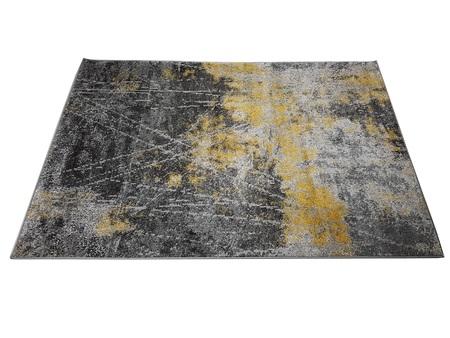 Nowoczesny dywan STIL 7897A LIGHT GREY. Niesymetryczne kształty w odcieniach szarości i żółci podkreślą charakter Twojego pomieszczenia. Profesjonalne wykonanie oraz wysoka jakość, gwarantują długie użytkowanie produktu.