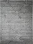 Nowoczesny dywan STIL 7901A LIGHT GREY. Symetryczne kształty w odcieniach szarości podkreślą charakter Twojego pomieszczenia. Profesjonalne wykonanie oraz wysoka jakość, gwarantują długie użytkowanie produktu.