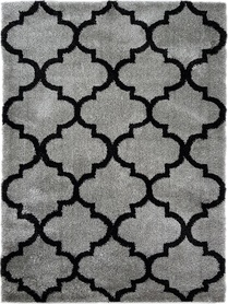 Nowoczesny dywan DELUX 01805A LIGHT GREY. Puszysty dywan - modny wzór, marokańska koniczyna w odcieniach szarości podkreśli charakter Twojego pomieszczenia. Profesjonalne wykonanie oraz wysoka jakość, gwarantują długie użytkowanie produktu.