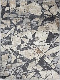 Nowoczesny dywan DELFIN 09720A GREY. Puszysty dywan - modny wzór, Niesymetryczne kształty w odcieniach szarości i beżu podkreślą charakter Twojego pomieszczenia. Profesjonalne wykonanie oraz wysoka jakość, gwarantują długie użytkowanie produktu.