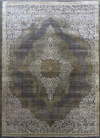 Nowoczesny dywan Elite 3935 Grey Gold. Modny, tradycyjny wzór. Profesjonalne wykonanie oraz wysoka jakość, gwarantują długie użytkowanie produktu.
