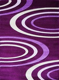 Nowoczesny dywan Jakamoz 1061 fioletowy