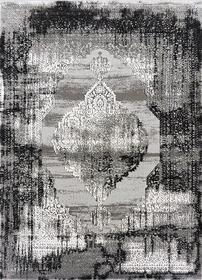 Nowoczesny dywan Zara 8372 GREY STAR. Grafitowo szare wzory podkreślą charakter Twojego pomieszczenia. Profesjonalne wykonanie oraz wysoka jakość, gwarantują długie użytkowanie produktu.