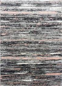 Nowoczesny dywan Zara 8488 PINK GREY. Grafitowo szare wzory podkreślą charakter Twojego pomieszczenia. Profesjonalne wykonanie oraz wysoka jakość, gwarantują długie użytkowanie produktu.