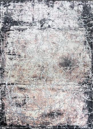 Nowoczesny dywan Zara 9630 PINK GREY. Grafitowo szare wzory podkreślą charakter Twojego pomieszczenia. Profesjonalne wykonanie oraz wysoka jakość, gwarantują długie użytkowanie produktu.