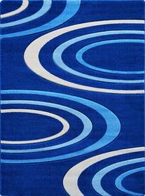Nowoczesny dywan Jakamoz 1061 niebieski