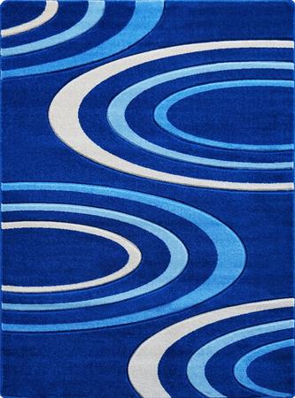 Nowoczesny dywan Jakamoz 1061 niebieski (1)