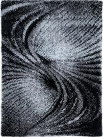 Puszysty dywan MILANO 06163C BLACK. Niesymetryczne kształty w odcieniach szarości i czerni podkreślą charakter Twojego pomieszczenia. Profesjonalne wykonanie oraz wysoka jakość, gwarantują długie użytkowanie produktu.