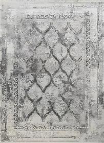 Puszysty dywan CREANTE 19148 GREY. Niesymetryczne kształty w odcieniach szarości i złota podkreślą charakter Twojego pomieszczenia. Dywan w stylu Vintage. Profesjonalne wykonanie oraz wysoka jakość wiskozy, gwarantują długie użytkowanie produktu.