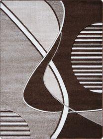 Nowoczesny dywan Jakamoz 1351 brązowy