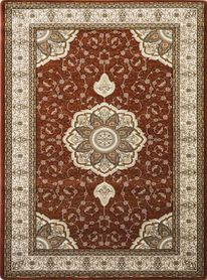 Tradycyjny dywan Anatolia 5328 brązowy