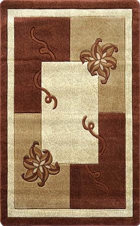 Nowoczesny dywan Adora 5241 brązowy (1)